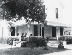 The Funeral Home as it looked the day 13 year old Fred J. Grady started working at it on July 19, 1936.